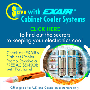 EXAIR Cabinet Cooler Promotion